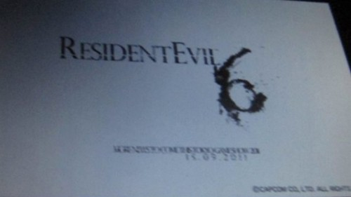 Resident Evil 6 To Be Unveiled at Tokyo Game Show ?