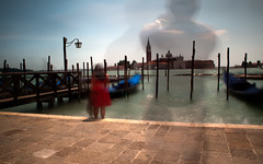 Ghosts of Tourists Past... (Mandyk_1) Tags: venice summer lagune colour clouds nikon long day lagoon gondola daytime d300 nikon1855mm nikond300 northshieldscameraclub