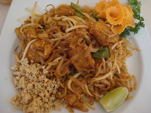 Tofu Pad Thai country style