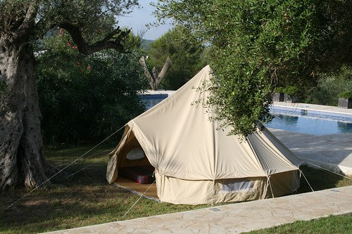 White Ibiza recommends: Bell-tent Ibiza
