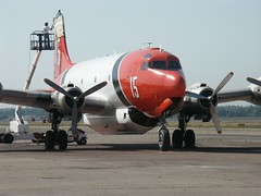 15b (Proplinerman) Tags: aircraft chico douglas airliner skymaster dc4 c54 propliner aerounion n2742g pistonliner