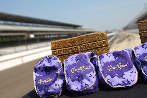 Crown Royal joins the 2012 Brickyard 400