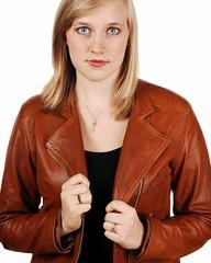Beth (Studio d'Xavier) Tags: portrait beth whitebackground strobist