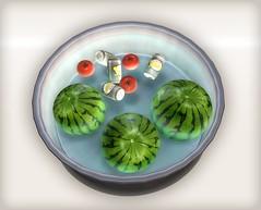 Watermelon gift 01 (Ayumi Cassini) Tags: watermelon secondlife freebie