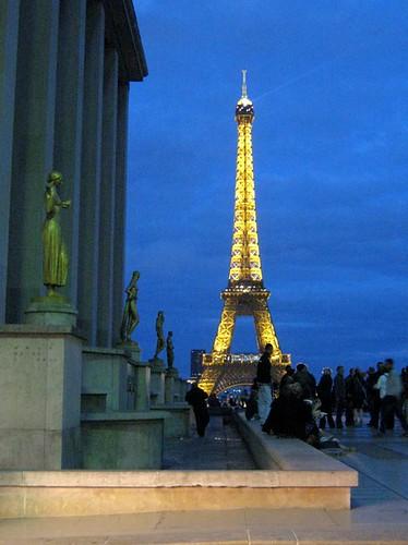 Trocadéro view
