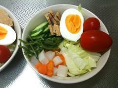 朝食サラダ(2011/8/1)