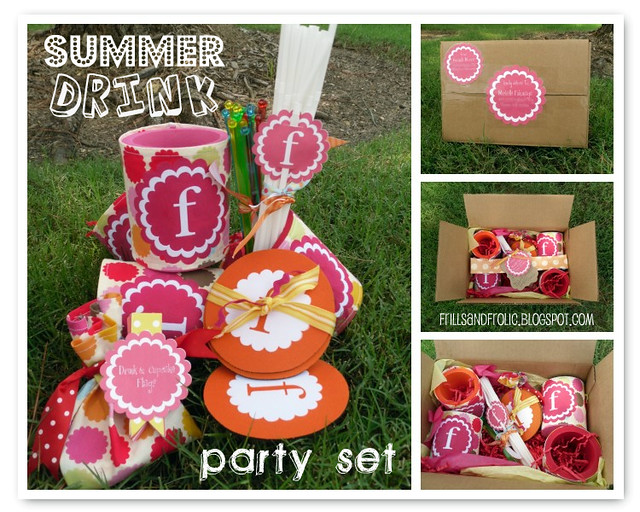 Summer Drink Party Set