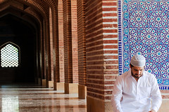 Ramadan Kareem (fahadee) Tags: portrait men canon happy dof 100mm holly arab ramadan month prayers masjid karim kareem badshahi 550d fahadee gettyimagespakistanq2