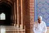Ramadan Kareem (fahadee) Tags: portrait men canon happy dof 100mm holly arab ramadan month prayers masjid karim kareem badshahi 550d fahadee gettyimagespakistanq2