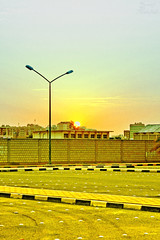 Sun (Yousef Malallah) Tags: sunset sun beautiful night sunrise wonderful day god sony it mosque kuwait  mal hdr allah   yousef    a700     anawesomeshot malallah  mqams