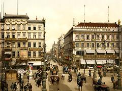 Victoria Hotel, Unter den Linden, Berlin, ca. 1900