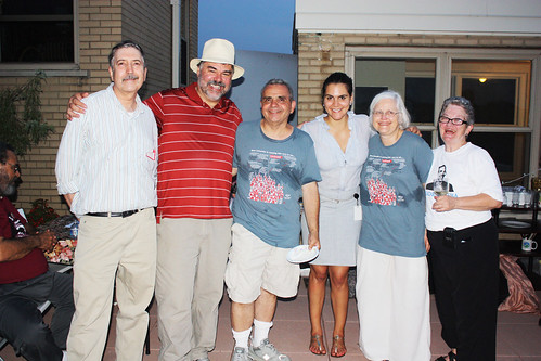 Ward 1 Volunteer Team with Summer Organizer Valentina P.