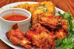 Mmm... hot wings