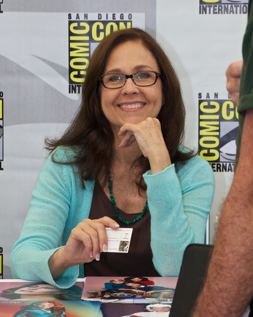 Erin Gray at Comic-Con 2011