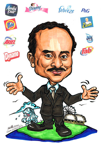 caricature for P&G 29062011