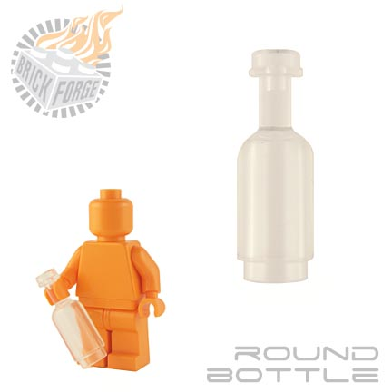 Round Bottle - Trans Clear