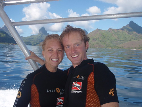 Post Shark Dive off Moorea