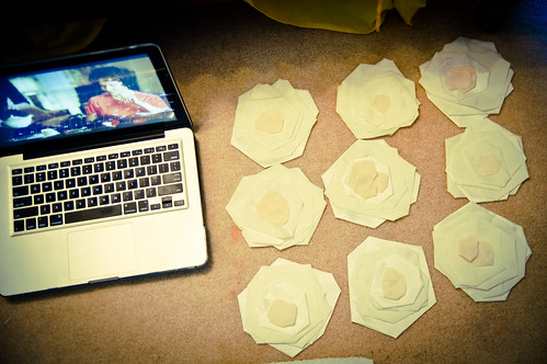 DIY Flower Pillow-Process