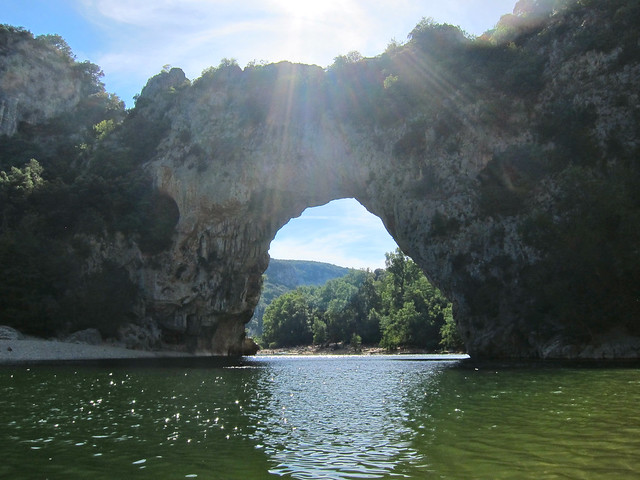 Pont Arc in Ardeche