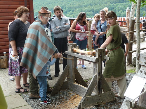 Wood Turning at Crannog Centre