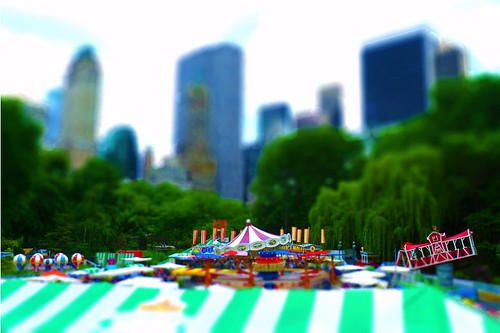 Central Park Carnival Miniature4x6