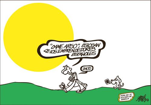 El eslogan de los emprendedores españoles