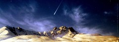 The Imaginary Comet  (yusuf_alioglu) Tags: world winter mountain snow turkey stars photography photo flickr peace photographer earth space dream panasonic comet meteor snowymountain asteroid kayseri uzay spaceage planetearth planetoid mydream erciyes planetworld erciyesda kuyrukluyldz erciyesmountain alioglu picasa3 panasonicdmcls80 yusufaliolu yusufalioglu unbornart yusufaliogluphotography weloveyoutom imissyoutom imaginarycomet summitofthemountain afloatingstar