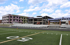 New GHS Construction (Grafton News) Tags: news field ma football construction massachusetts mass ghs grafton 50yardline newhighschool graftonnewscom thegraftonnewscom