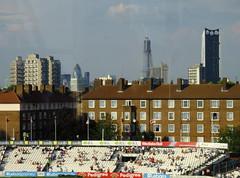 The Kia Oval - Aug 2011 - The Gherkin, The Shard and The Razor