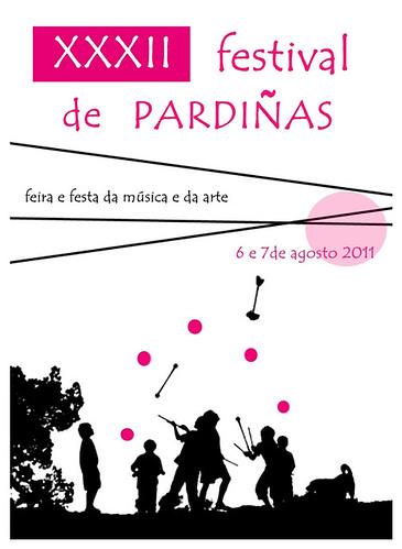 Guitiriz 2011 - Festival de Pardiñas - cartel