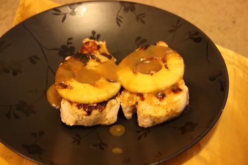Pineapple pork chops2