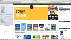 Featured! (Beep.) Tags: itunes omg jeremykeith ethanmarcotte abookapart responsivewebdesign featuredbook