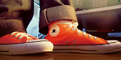 Orange Converse (MariannSonnenschein*) Tags: converse takethat jasonorange