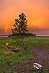 Tormenta sobre el lago Yellowstone (JoanRoca) Tags: lake landscape lago landscapes nationalpark unitedstates lakes formation yellowstonenationalpark wyoming geology formations parquenacional protectedarea reaprotegida yellowstone2008 fluviallandforms