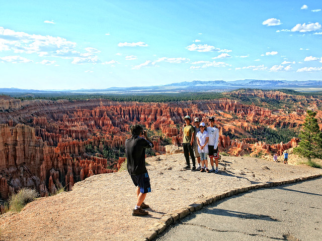 Japanese at Bryce Canyon