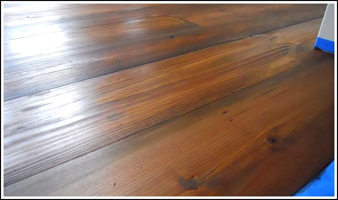 Our Reclaimed Barn Wood Floors Andrea Dekker