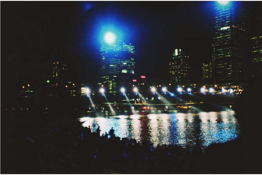 Brisbane lightshow