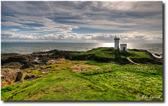Lighthouse at Elie (carrmp) Tags: uk sea lighthouse landscape scotland niceshot fife elie mygearandme musictomyeyeslevel1