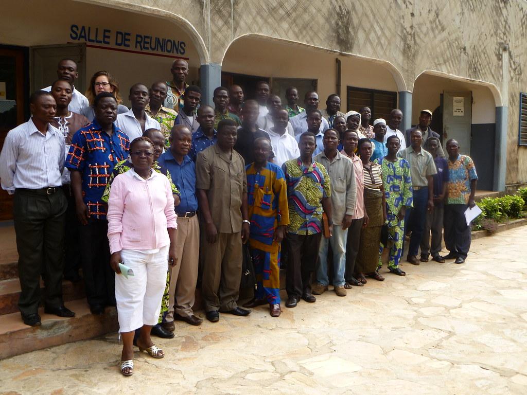 Nos partenaires  INADES et CPC Togo