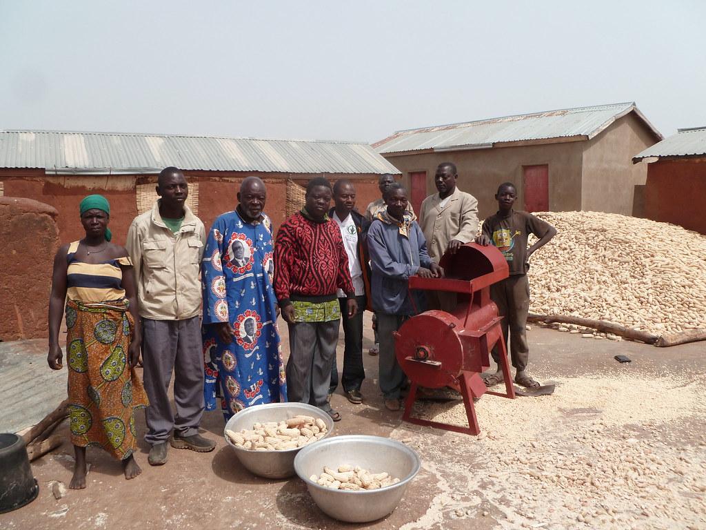 Egreneuse de maïs Togo