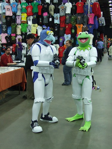Gonzo and Kermit Stormtroopers at Detroit Fanfare