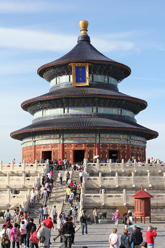 Beijing's Temple of Heaven by emaggie