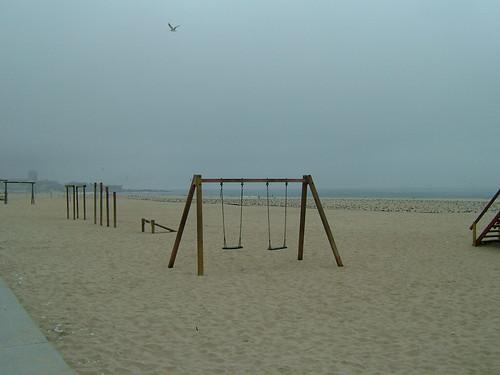 Seagulls playground / Parque infantil para gaivotas