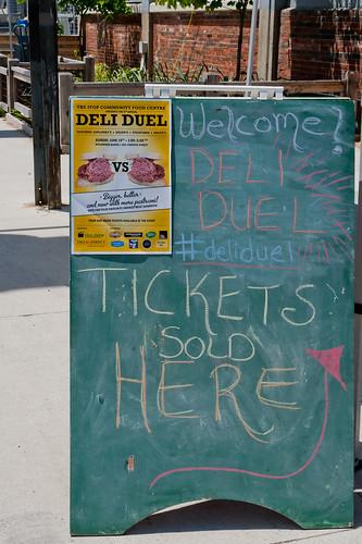 Deli Duel #2: Sandwich Board