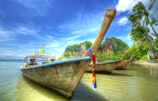 Krabi Beach Transportation Boat