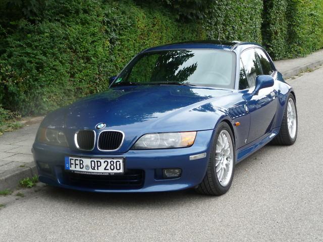 1999 Z3 Coupe | Topaz Blue | Black