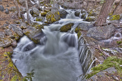 Alder Creek HDR (wide) [EXPLORED] (x-ray tech) Tags: park trip vacation snow motion cold tree ice nature water leaves rock creek forest photoshop canon river landscape outdoors eos moss interestingness spring cool nice interesting scenery stream long exposure post wind wildlife branches air tripod great bracket may boulder falls fresh clean explore filter national adobe yosemite process hillside capture breeze hdr beatiful density neutral photomatix cs5 5dmarkii mygearandme