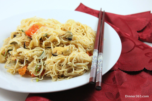 Day 183 - Mussel Chow Mein