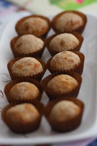 mini fındıklı tarçınlı kurabiyeler