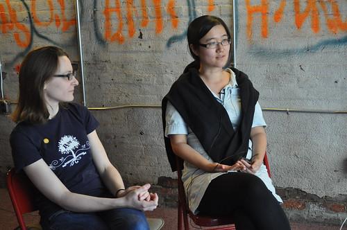 Amelia Marzec y Nova Jiang
